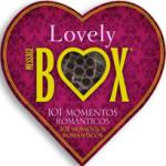 Lovely Box101 momentos románticos para vivir en pareja. ¡La rutina será destruida!